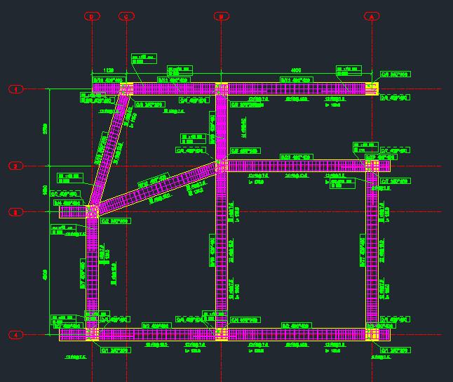 نمایش پلان کامل میلگردهابه صورت طبقه به طبقه