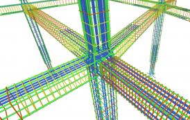 مدل سه بعدی سازه