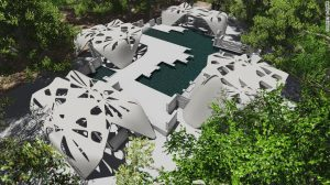 بنای تولید شده توسط چاپگر سهبعدی